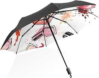 MB-LANHUAl rev/és C-Handle Reverse Paraguas Bolsa de Almacenamiento Estuche Antipolvo Cubierta Protectora Correa para el Hombro Llevar Soporte