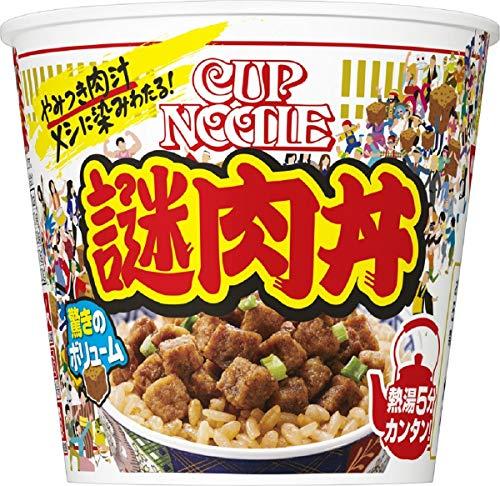 日清 カップヌードル 謎肉丼 111g×6個