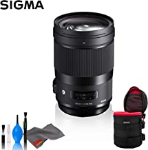 Sigma 40mm f/1.4 DG HSM Art Lens for Canon EF - Standard Bundle