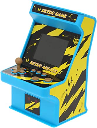 """Docooler Retro Miniature Arcade Game Console Portable Handheld Game Machine 256 Classic Games 2.8"""" Screen with Wired Gamepad Present Gift for Kids Support AV Out"""