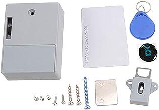 #N/A Magnetic Induction Hidden Lock Kit gatvrij voor huiskastsieraden - grijs dubbele deur