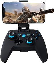 Mando para Android/PC/PS3/TV Inalámbrico, Maegoo Bluetooth Android Móvil Mando de Juegos con Soporte Retráctil, 2.4G Inalámbrico PC/PS3/TV Mando Controlador Gamepad con Doble Vibración