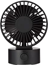 Muji Low Noise USB Desk Fan, Black