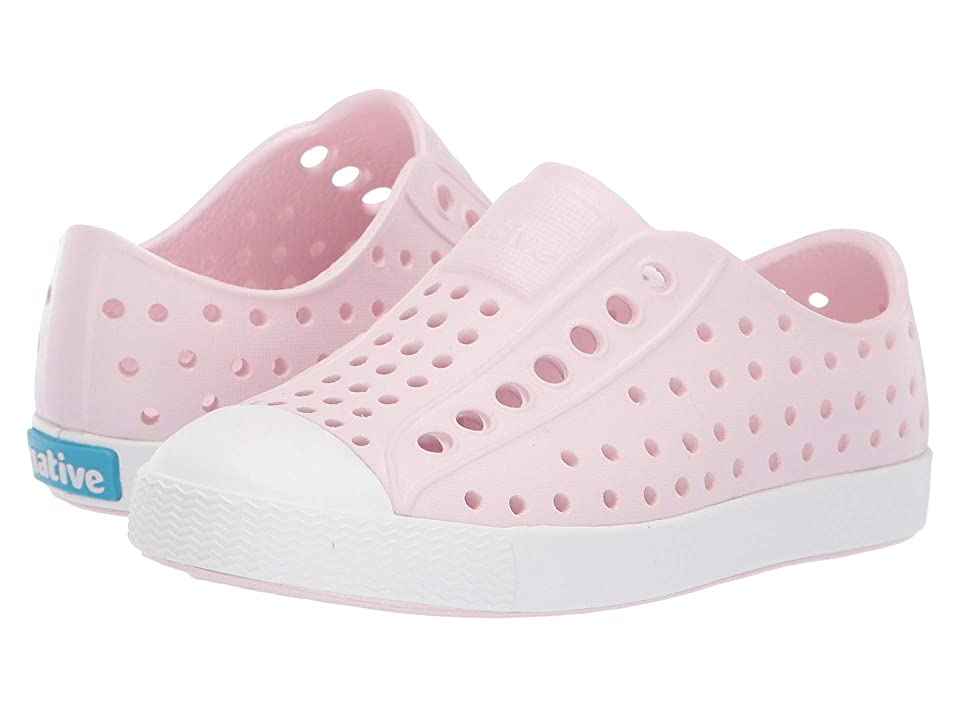 Native Kids Shoes Jefferson (Toddler/Little Kid) (Milk Pink/Shell White) Girls Shoes