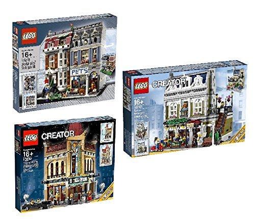 LEGO Bundle Creator Pet Shop 10218 Creator 10232Palace Cinema & Lego Creator Expert 10243Parisian Restaurant by
