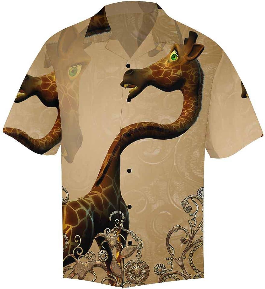 Challenge the lowest Arlington Mall price of Japan InterestPrint Men's Casual Button Down Hawaiian Short Shi Sleeve