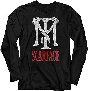 Scarface - Camiseta de manga larga para hombre negro M