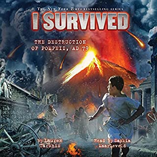 I Survived the Destruction of Pompeii, A.D. 79 audiobook cover art