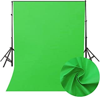 3D 撮影 写真ビデオスタジオ用 バックペーパー Smola 7色対応 背景布 人物 商品 無反射 大判 160*200cm 透かず厚地 無地 折りたたみ 防水 簡易スタジオ 撮影やビデオなどに対応 (グリーン)