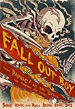 NewBrightBase Fall Out Boy Fabric Cloth Rolled Wall Poster Print - Size: (36' x 24' / 20' x 13')