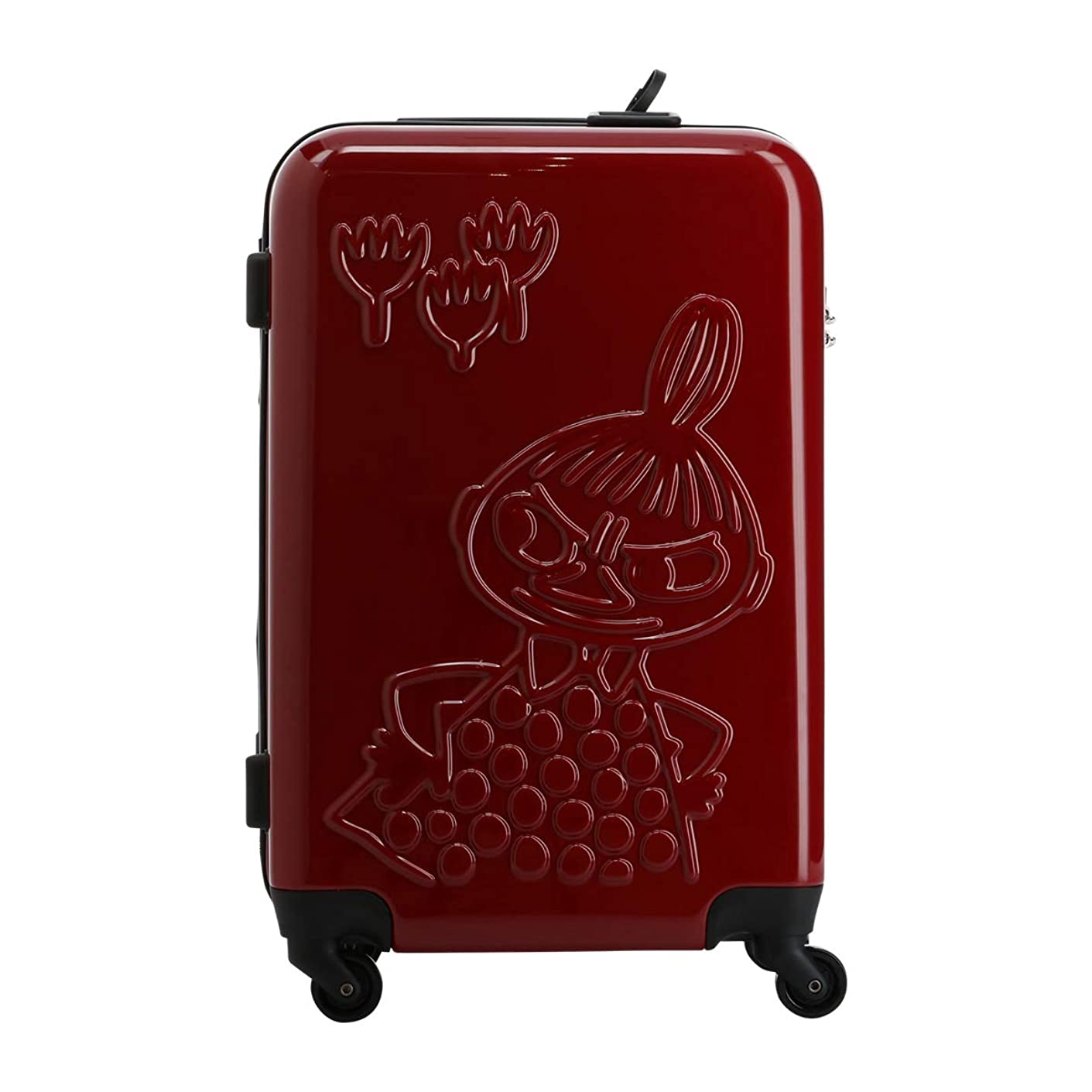 業界バレーボールオートマトン[ムーミン] ミイ スーツケース ぬいぐる ネックピロー付き 44L 55.5cm 3.0kg MM2-014