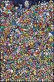 DFRTY Puzzle de Pokemon 1000 Piezas Rompecabezas de Madera para Adultos Paisaje Atractivo Juego Rompecabezas Juguetes Divertidos para Adultos Niños Adolescentes