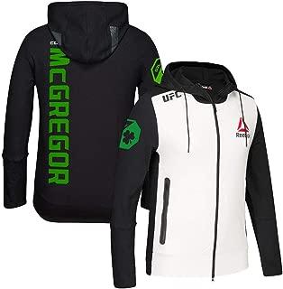 Conor McGregor UFC (Black/White/Green) Fight Kit Walkout Hoodie Men's