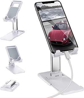 2 en 1 Tablet iPad Holder Dock Soporte de Carga inal/ámbrico para iPhone 11//11 Pro//11 Pro MAX//XS MAX//XR//XS//X//8Plus//8 Airpods AICase Soporte para Tableta Cargador inal/ámbrico Ajustable Samsung