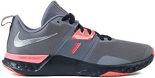 Nike Reneretaliation TR, Scarpe da Ginnastica Uomo, Gunsmokesea/Metallic Silver/Thunder Grey, 45 EU