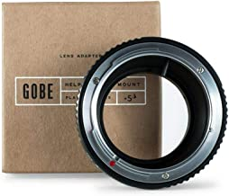 Gobe Lens Mount Adapter: Compatible with Canon FD Lens and Micro Four Thirds (M4/3) Camera Body