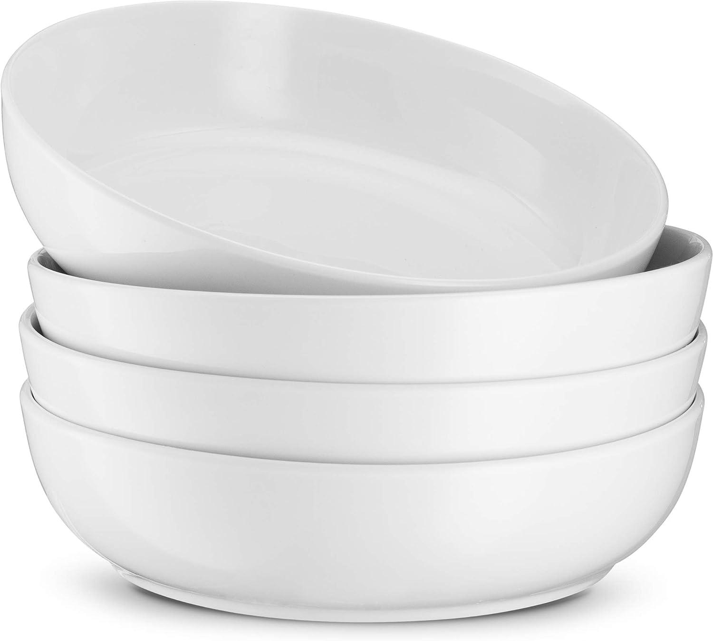 Limited Special Price Kook Porcelain Pasta Bowl Set For and Serving Soups Dedication Bow Salads