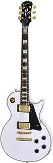 Les Paul Custom Pro Electric Guitar Alpine White