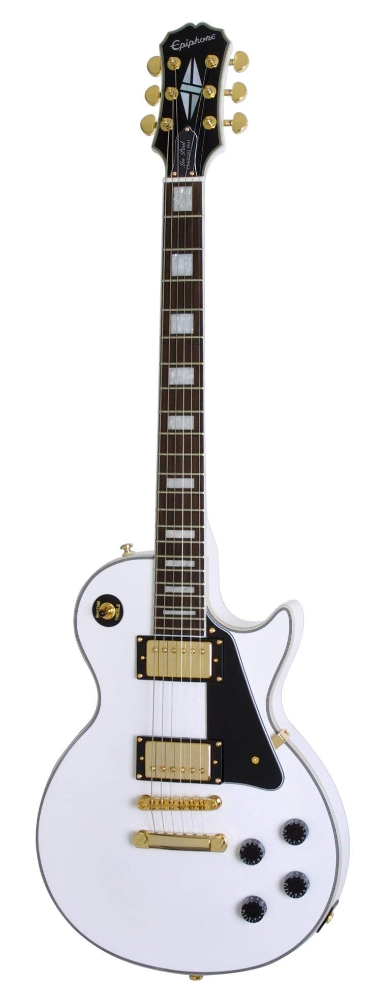 Cheap Les Paul Custom Pro Electric Guitar Alpine White Black Friday & Cyber Monday 2019