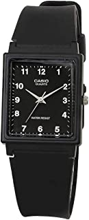 Casio MQ-27-1B Black Rectangular Basic 3-Hand Unisex Quartz Analog Watch