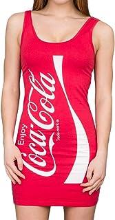 Coke Red Tunic Tank Dress