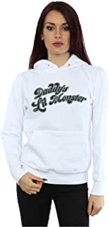 Suicide Squad Women's Harley Quinn Daddy's Lil Monster Basic Hoodie