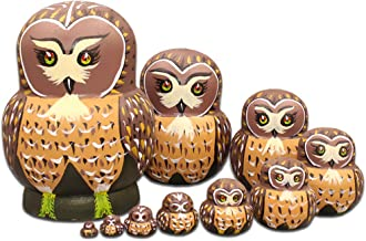 Best owl matryoshka dolls Reviews
