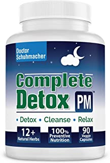 Sponsored Ad - Longevity Complete Detox [PM] - Rapid Whole Body Detox with Support for Liver Detox, Colon Detox, Lymph Det...