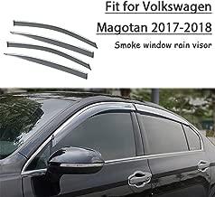 VW Transporter Multivan Caravelle T5 Vent Pluie Soleil Déflecteurs 4pièces