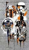 Komar 1–vd-022'celebrar el Galaxy' Star Wars–Papel pintado, multicolor