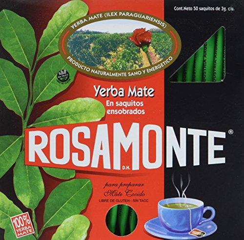 Rosamonte Mate Tee Teebeutel, 1er Pack (1 x 150 g)