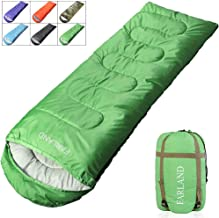 FARLAND Camping Sleeping Bag for Adults Youth Teens Kid with 0 Degree centigrade 20 Degree F Cold Weather Compression Sack Portable 4 Season,Hiking,Waterproof,Traveling, Backpacking and Outdoor