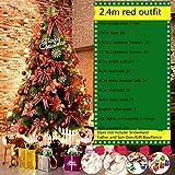 N-B Paquete de árbol de pino cifrado de 1,5 metros 1,8/2,4/3 metros de árbol de Navidad decoraciones de Navidad de lujo de la escena de la decoración