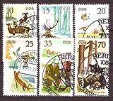 philaseum Briefmarken: DDR 1977, Mi.Nr. 2270-2275, Jagdwesen, Gestempelt (Mi. 5 EUR)