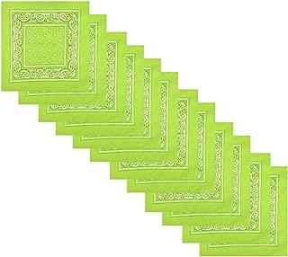 lime green bandana