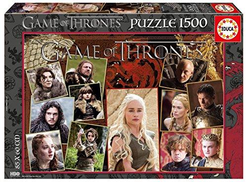 Juego de Tronos Puzzle 1500 Piezas, 4 (Educa Borrás 17125)
