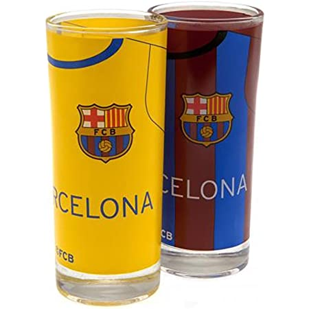 Barcelona 2pk High Ball Glass F.C