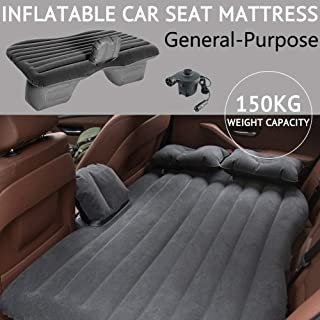Scenic Inflatable Car Back Seat Mattress Portable SUV Travel Camping Air Bed Rest Sleep