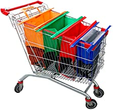 Portable Shopping Trolley Bag Truck Grocery Shopping Trolley Color : Eight Rounds Foldable Trolley SGMYMX Shopping cart Shopping cart