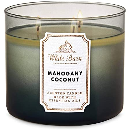 1 Bath /& Body Works COCONUT MACAROON Large 3-Wick Scented Candle 14.5 oz