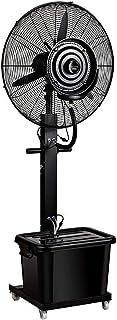 Jyfsa Ventilador de fábrica Comercial Ventilador Fresco Soporte de atomización de Alta Potencia Humidificadores de calefacción de Piso vibratorio Ventiladores de rocío de Niebla móvil