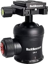 Buddiesman Cabezal de bola del trípode con fotografía panorámica de 360 ° Capacidad de carga máxima de 25KG / 55LB con tornillo de 3/8