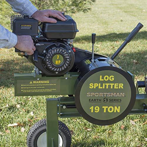 Product Image 1: Sportsman Earth Series 19 Ton Gas Powered Kinetic Log Splitter