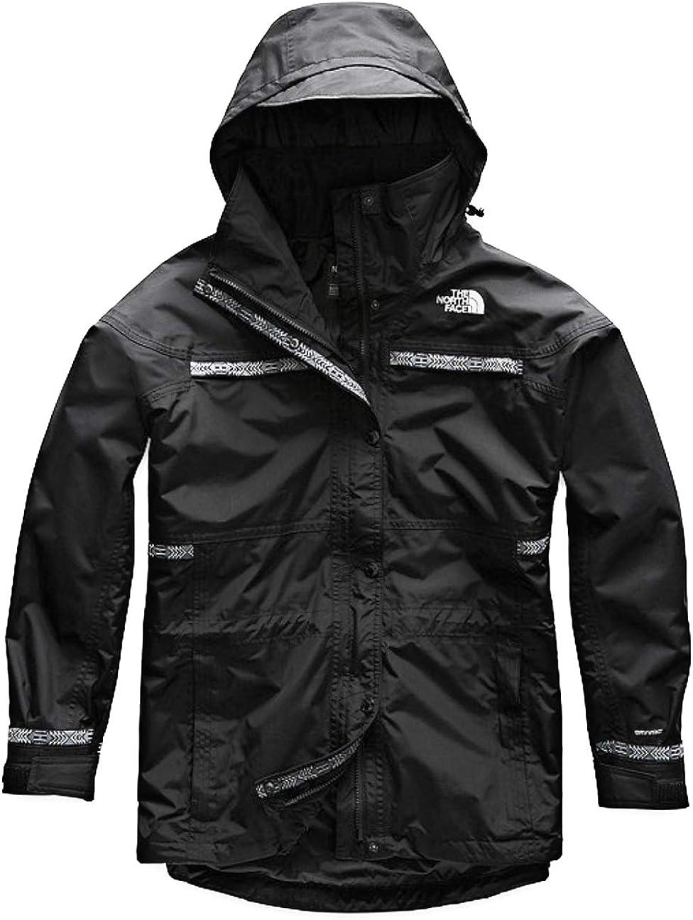 The North Face Men 92 Retro Rage Rain Jacket in TNF Black X-Large