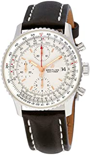 Navitimer 1 Chronograph Automatic Silver Dial Men's Watch A13324121G1X2
