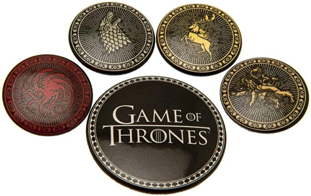 Game Of Max 45% OFF Thrones House Set Badge Milwaukee Mall Button