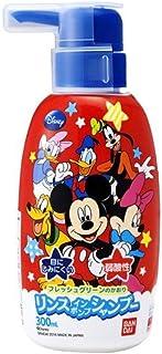 BANDAI リンスインポンプシャンプー ミッキーマウス W78×H173×D57mm 300mL 無着色