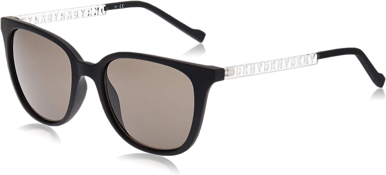 DKNY Damen DK509S Sunglasses, Black, Einheitsgröße