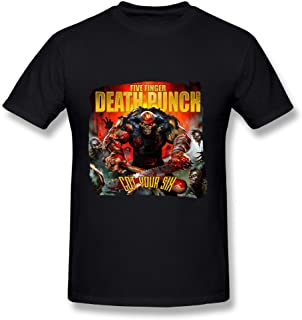 Five Finger Death Punch Fan 2016 Tour T Shirt For Men