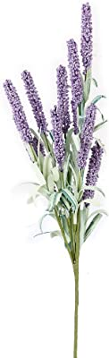 1 Bunch Artificial Lavender Flower Plant Home Decoration (Light purple)